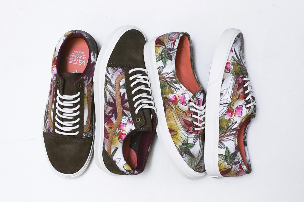 "Vans California 2014 Spring ""Floral Camo"" Pack"