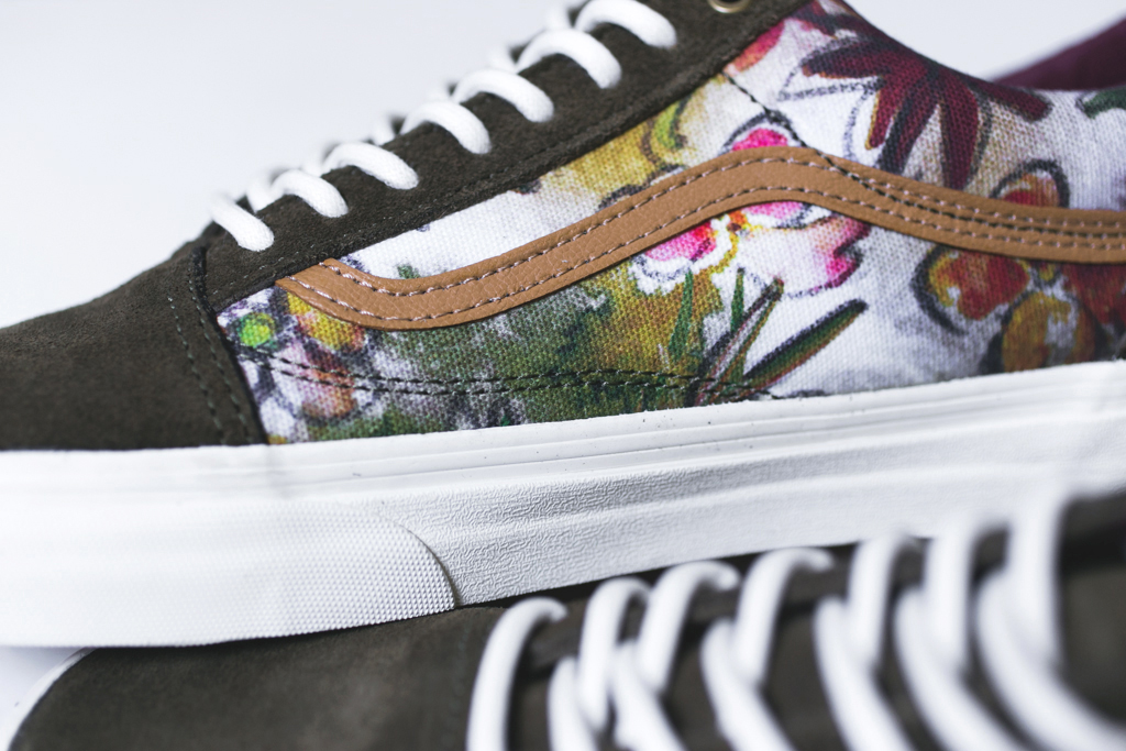 vans california 2014 spring floral camo pack