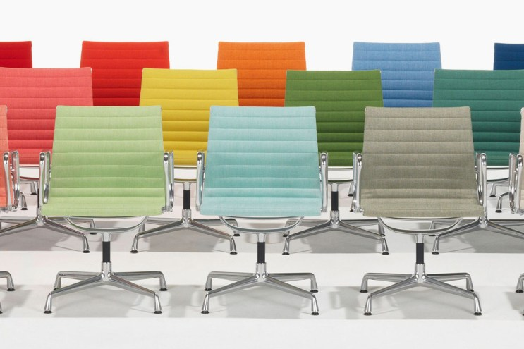 Vitra Unveils Bold New Colors for Aluminum Eames Chair