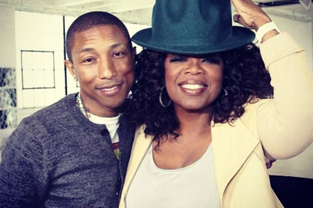 Watch Pharrell's Emotional Interview with Oprah