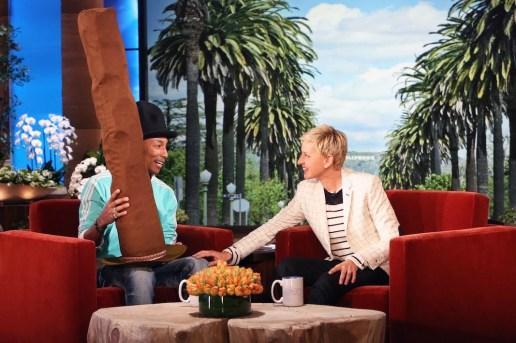 Watch Pharrell's Interview On 'The Ellen DeGeneres Show'