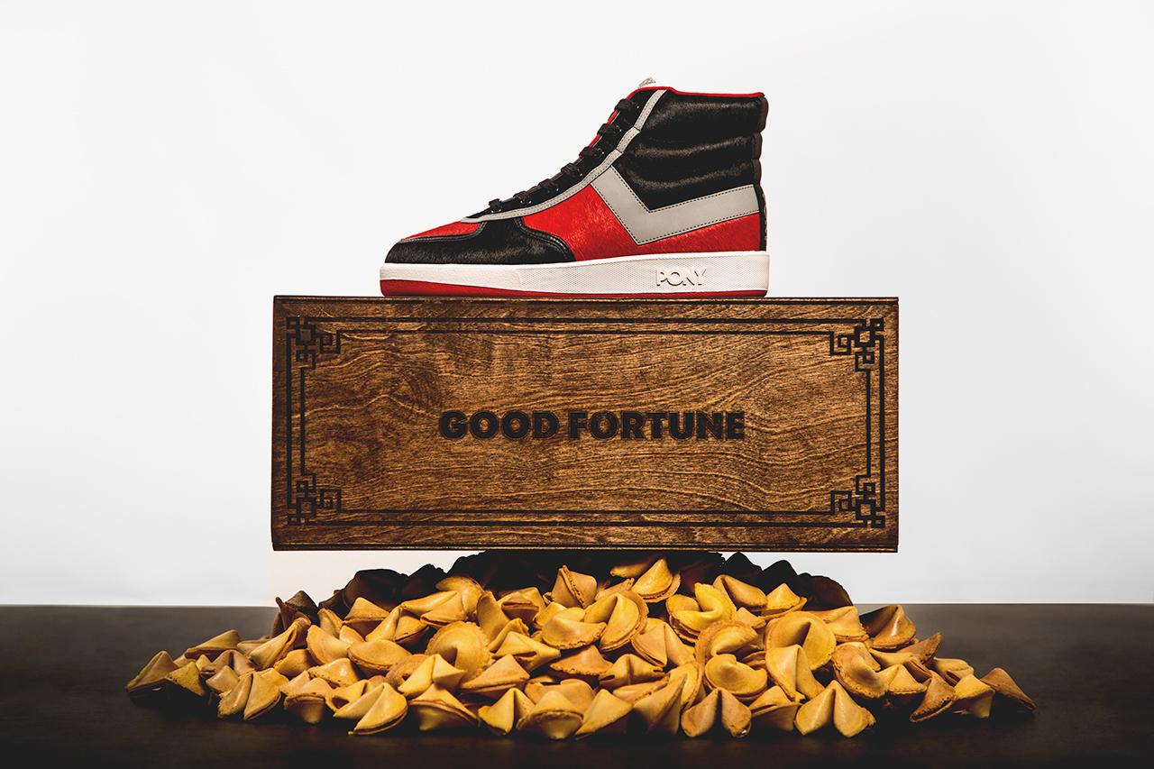 "Wish x PONY Slam Dunk Hi ""Good Fortune"""
