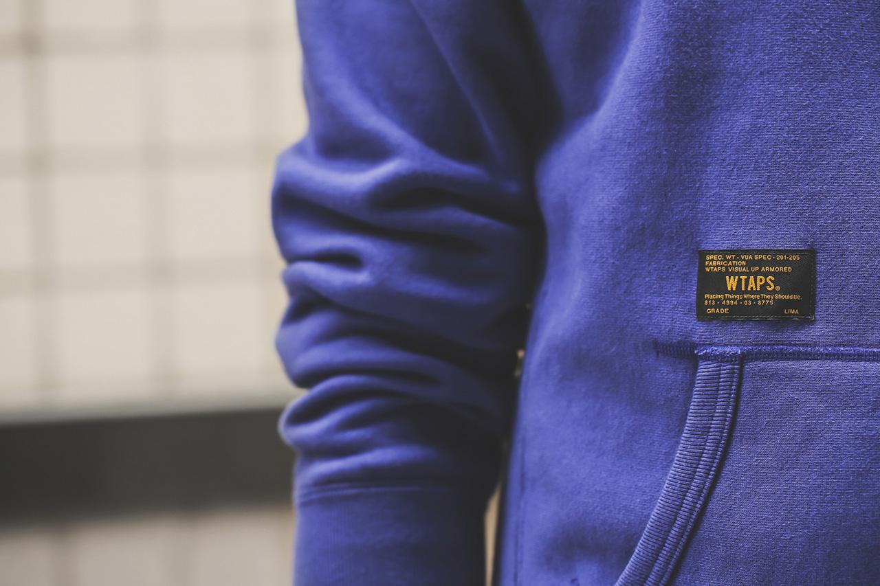 wtaps 2014 spring summer design hoody