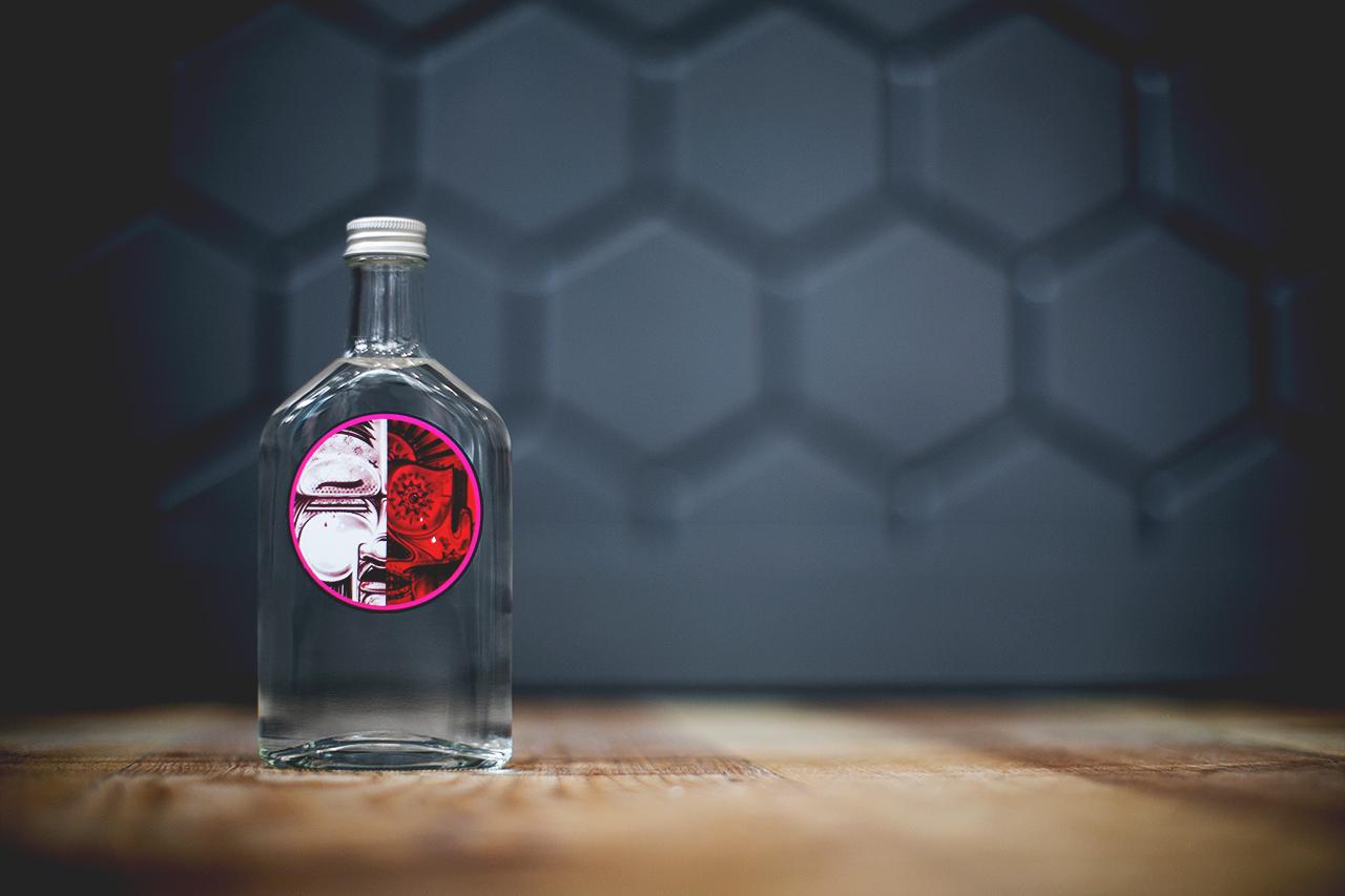How and Nosm x Yardbird Limited Edition Sake Bottle