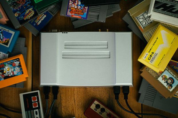 the 500 aluminum nintendo nes console