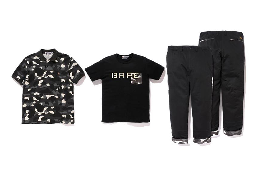 a bathing ape 2013 spring summer city camo collection