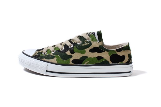 A Bathing Ape ABC CANVAS APE STA LOW