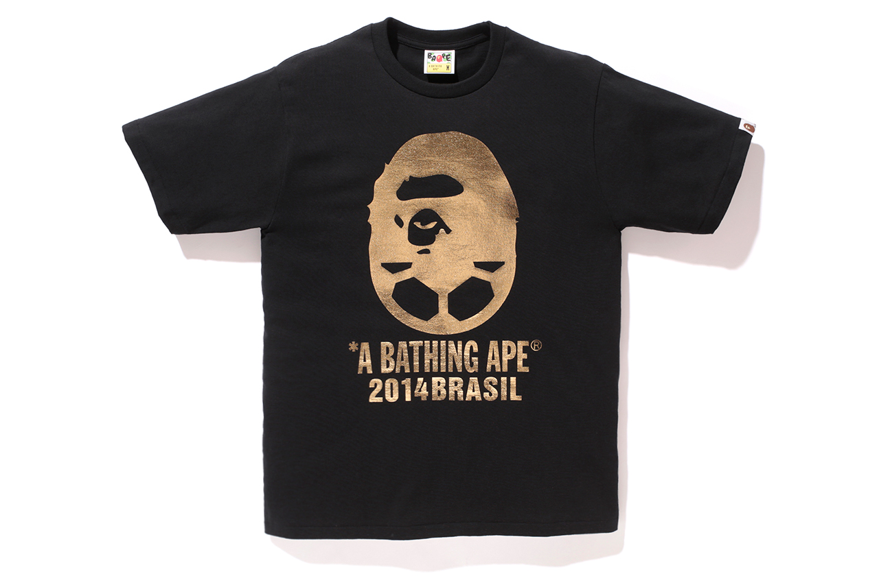 """A Bathing Ape for ZOZOTOWN 2014 """"BAPE SOCCER"""" Collection"""