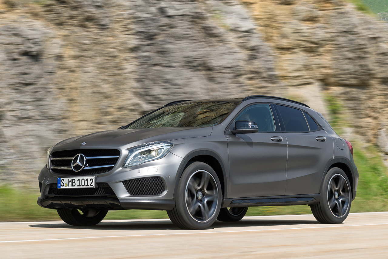 A Closer Look at the 2015 Mercedes-Benz GLA