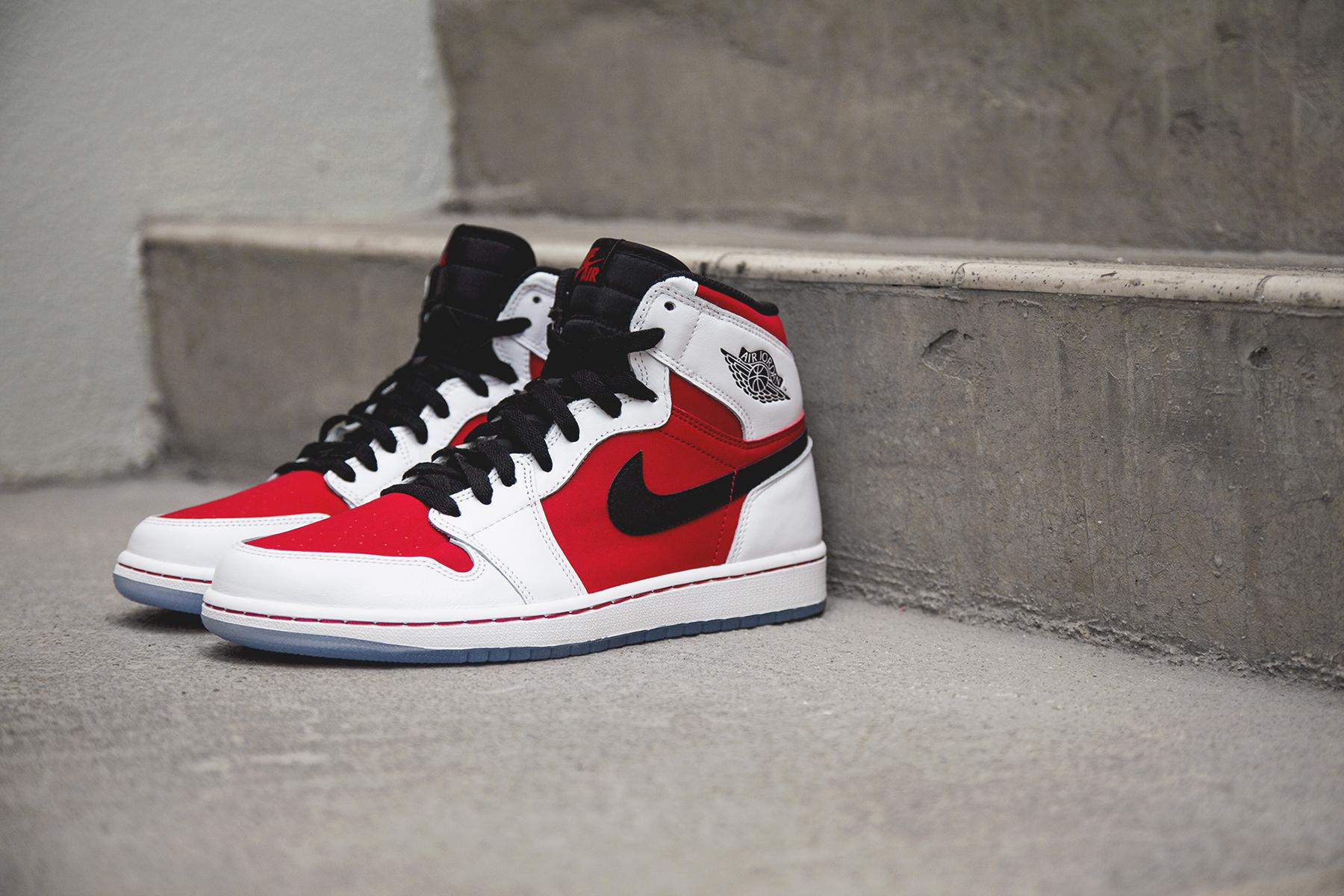 "A Closer Look at the Air Jordan 1 Retro Hi OG ""Carmine"""