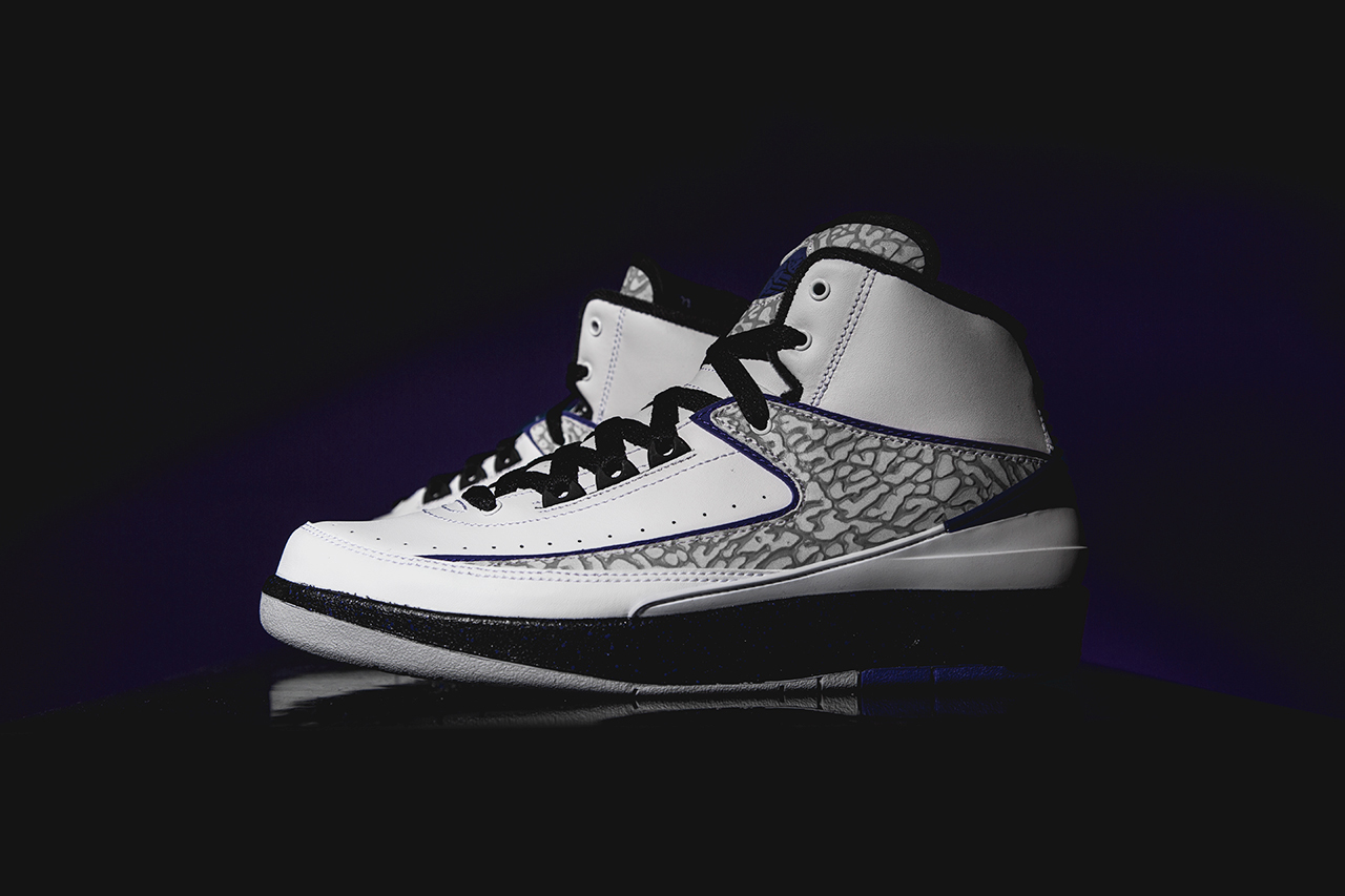a closer look at the air jordan 2 retro dark concord