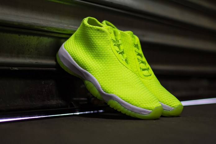 "A Closer Look at the Air Jordan Future ""Volt"""
