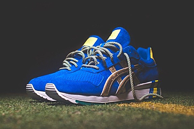 a first look at the ronnie fieg x asics gt ii kith football equipment brazil