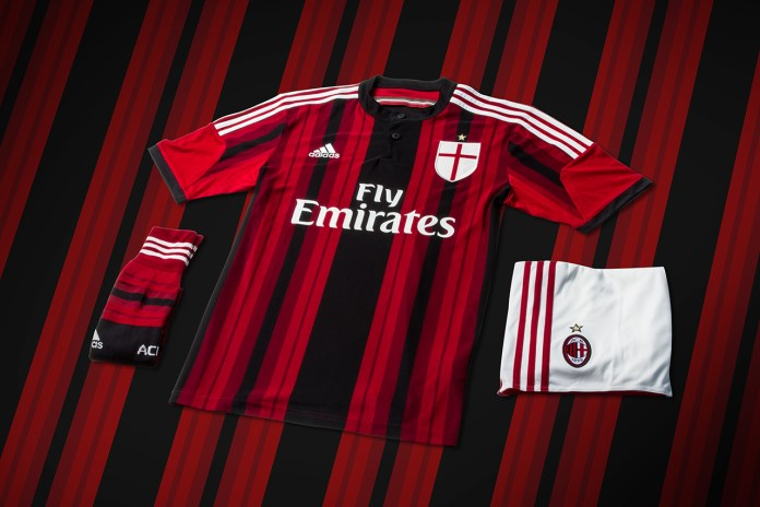 adidas Unveils AC Milan's New 2014/15 Kits