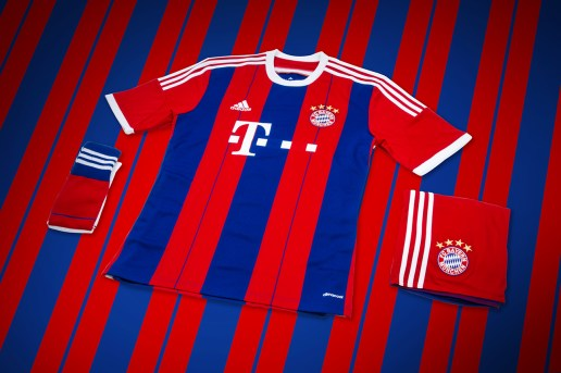 adidas Unveils Bayern Munich's New 2014/15 Kit