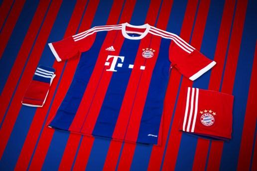 adidas Unveils Bayern Munich's New 2014/15 Kit