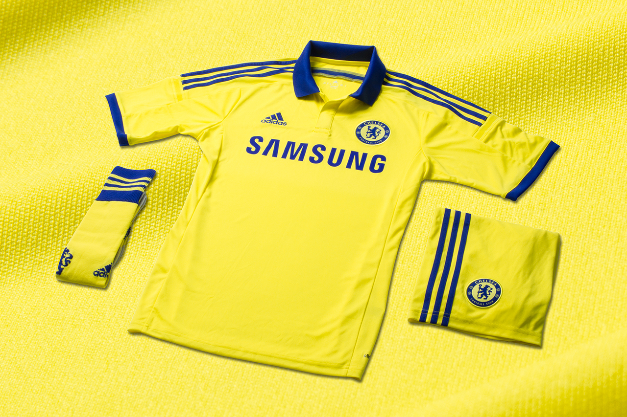 adidas Unveils Chelsea FC's New 2014/15 Away Kit