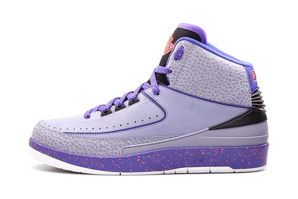 "Air Jordan 2 Retro ""Iron Purple"""