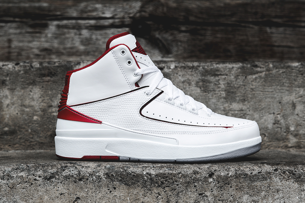 air jordan 2 retro white red