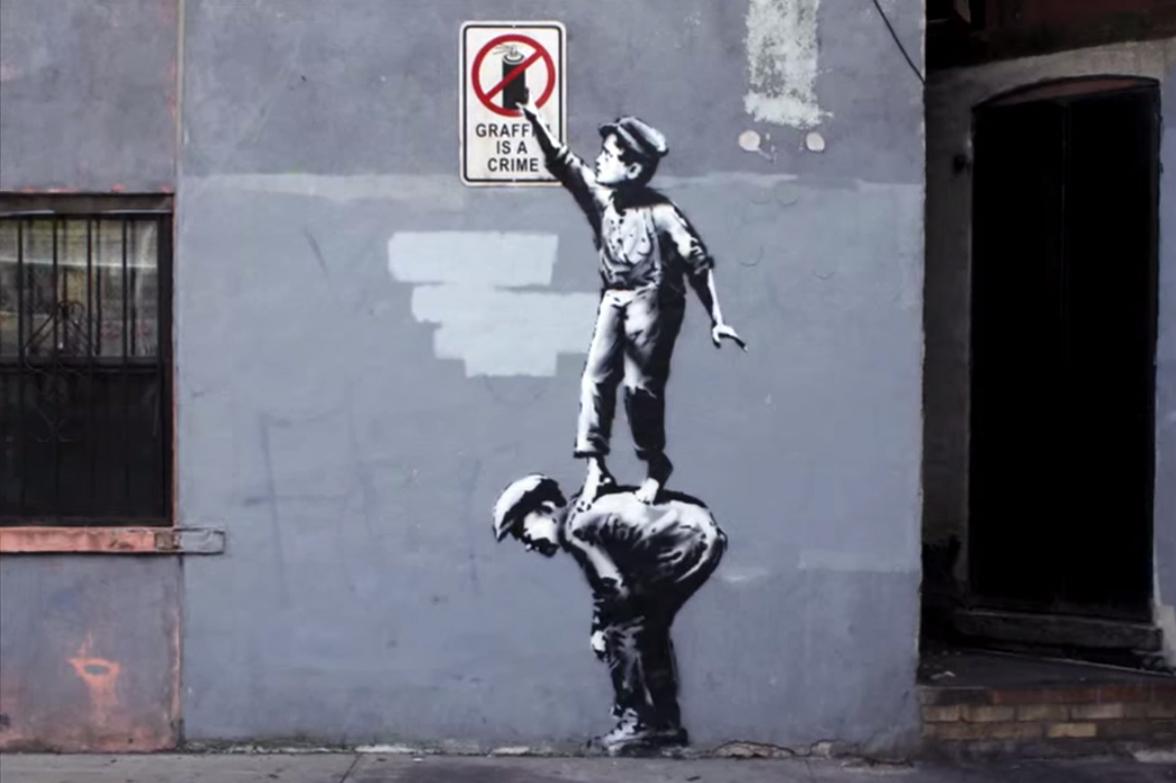 Banksy's Webby Award Acceptance Video
