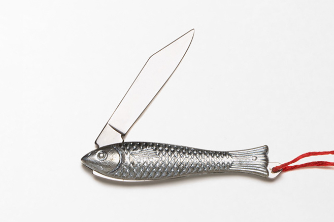 Best Made Co. Silver Fish Pen Knife