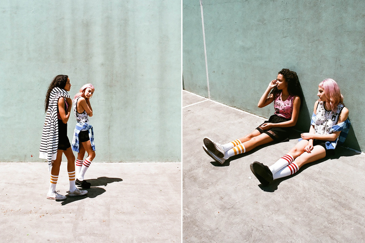 "Billionaire Boys Club Spring/Summer 2014 ""GIRL"" Editorial"