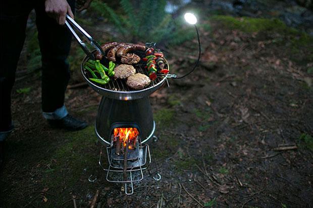 biolite basecamp portable stove