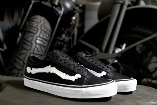 "Blends x Vans Vault Old Skool Zip LX ""Bones"" Preview"
