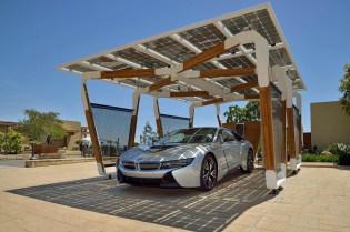 BMW i Solar Carport Concept