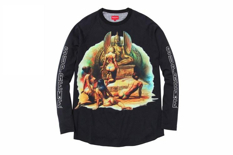 Boris Vallejo x Supreme 2014 Spring/Summer T-Shirts