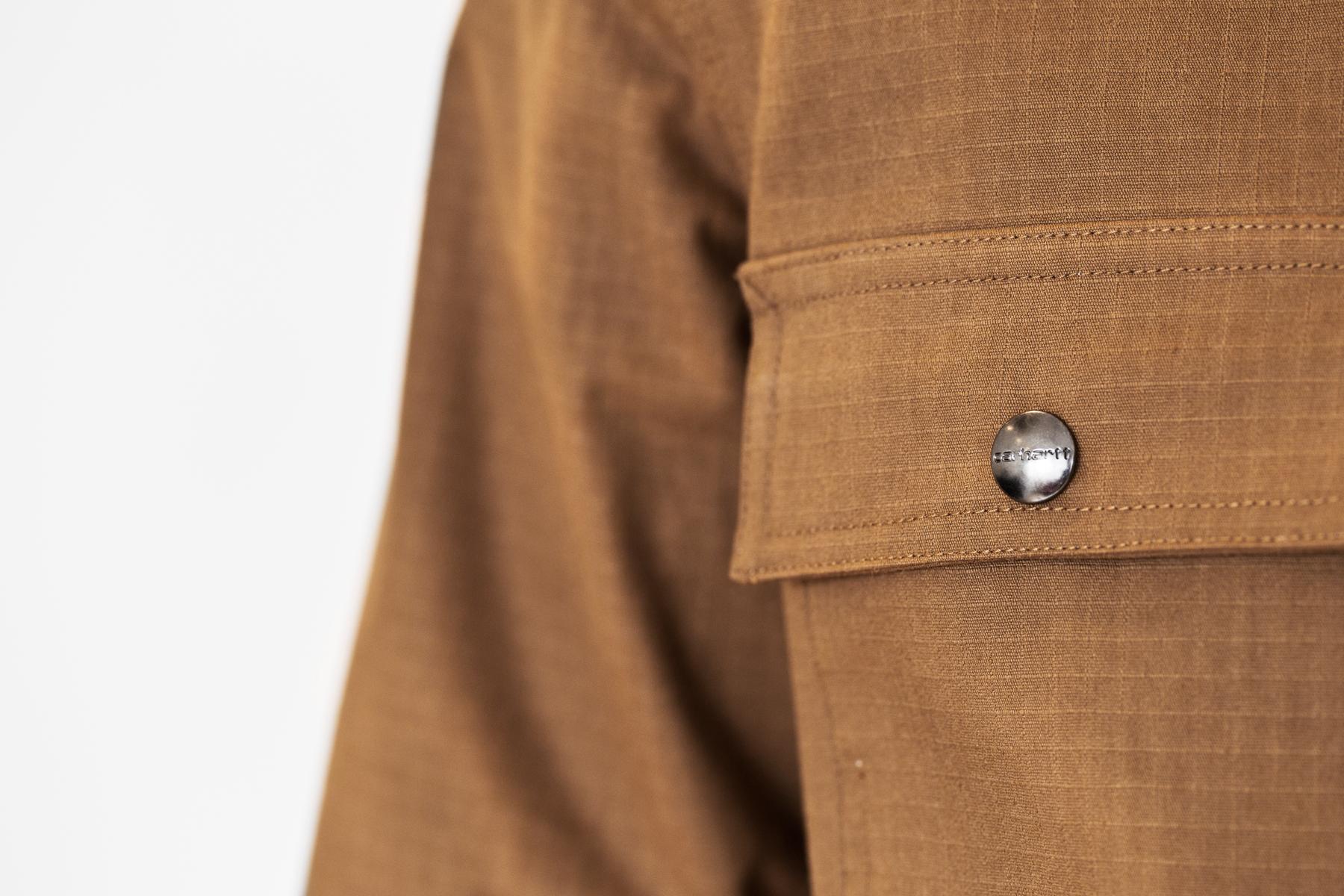 carhartt wip 2014 hamilton brown claim coat
