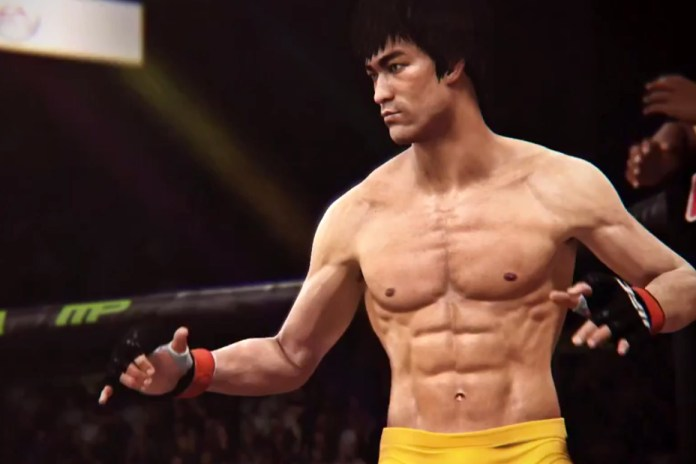 Check Out This Footage of Bruce Lee in EA Sports' UFC