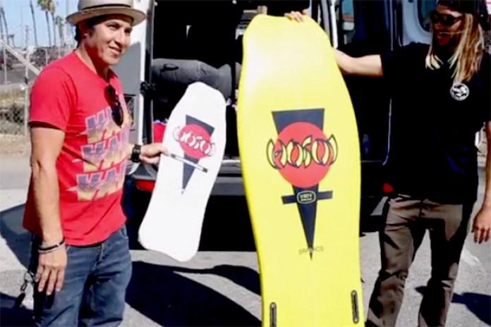 Christian Hosoi x UNIV Hammerhead Surfboard