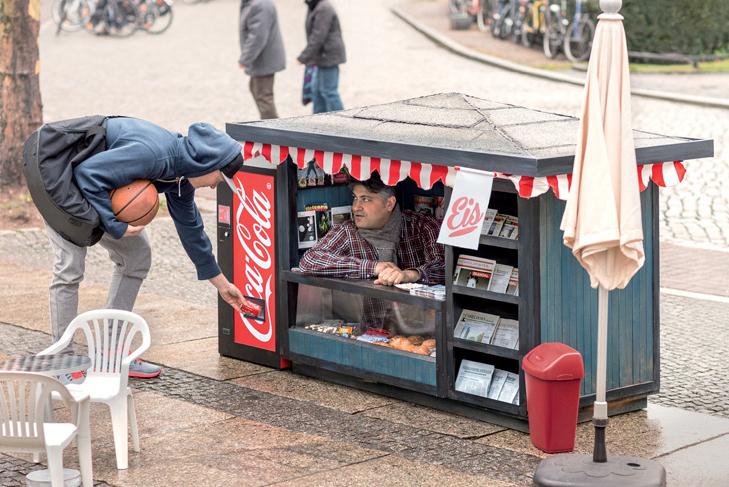 Coca-Cola Mini Kiosks by Ogilvy & Mather
