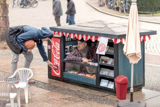 Coca-Cola Mini Kiosks by Ogilvy & Mather