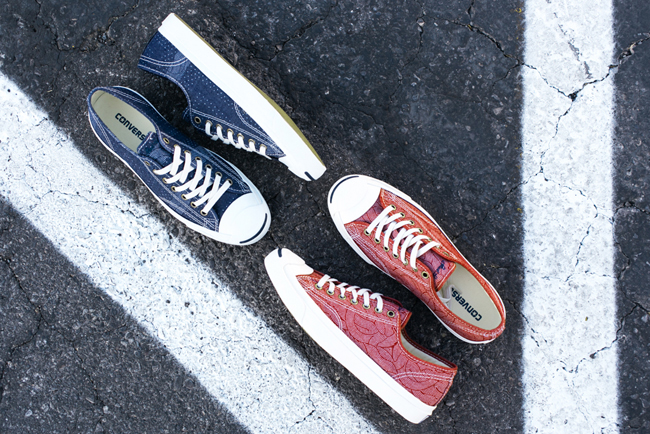 """Converse 2014 Jack Purcell """"Pocket Square"""" Collection"""