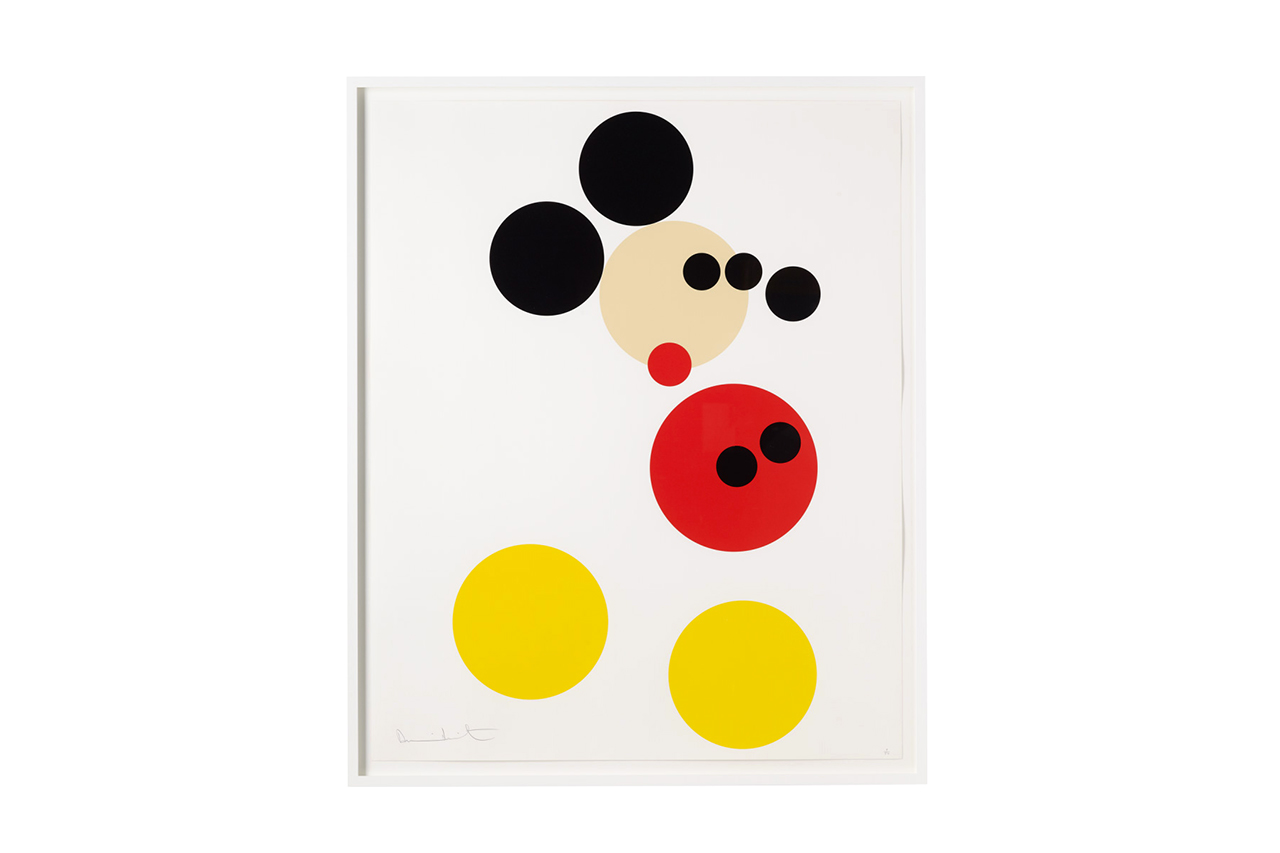 damien hirst mickey print for other criteria