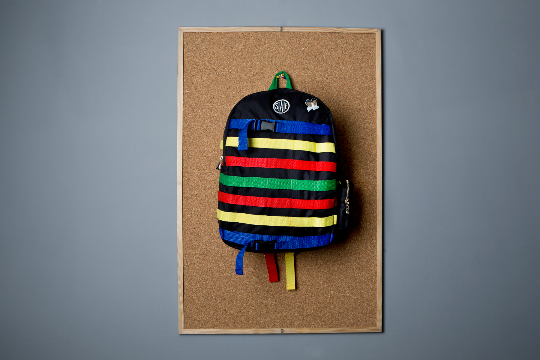dee and ricky 2014 spring summer backpacks and lego pins