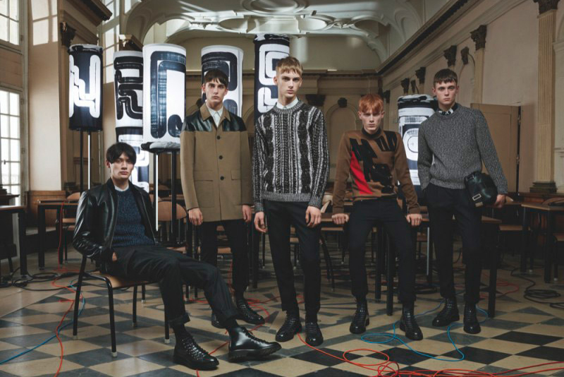 dior homme 2014 fall lookbook