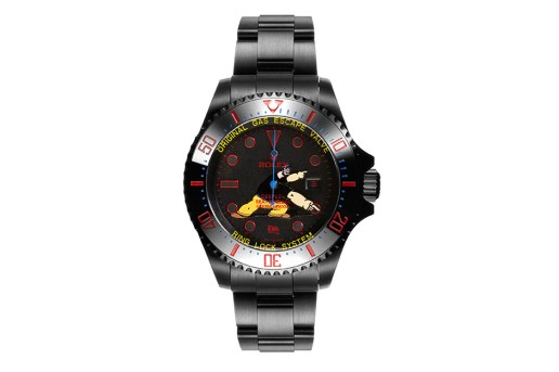 Dr. Romanelli x Bamford Watch Department Brutus Deepsea