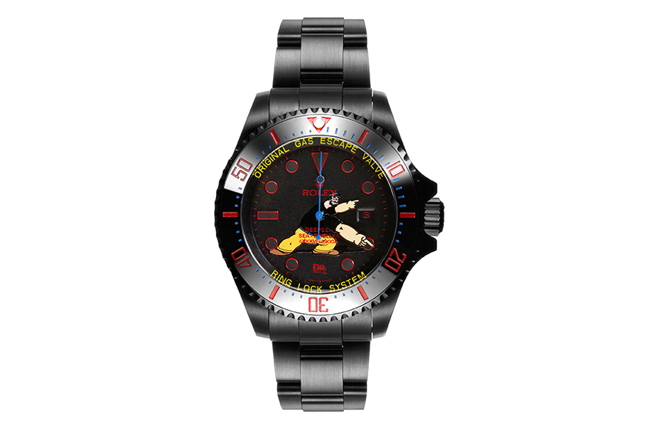 dr romanelli x bamford watch department brutus deepsea