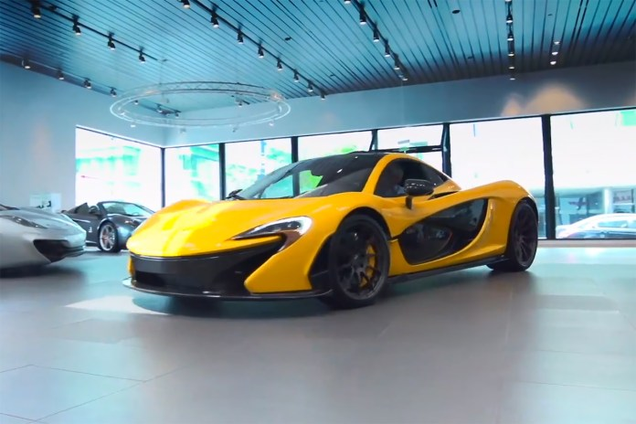 Driving the 2015 McLaren P1 with Jay Leno