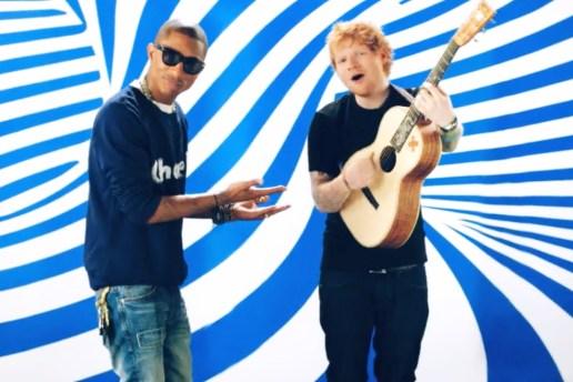 "Ed Sheeran ""Sing"" (Produced by Pharrell) Music Video"