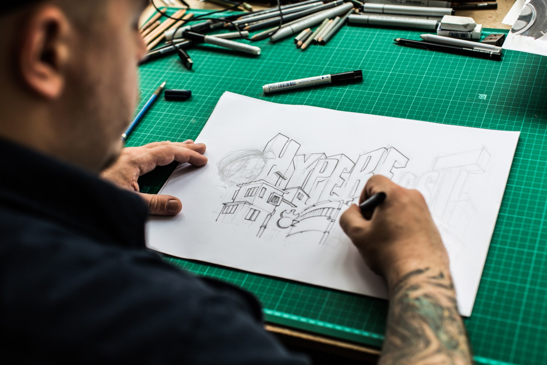 Pen & Paper: Electric Pick