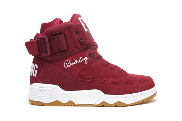 "Ewing Athletics 33 Hi ""Burgundy"""
