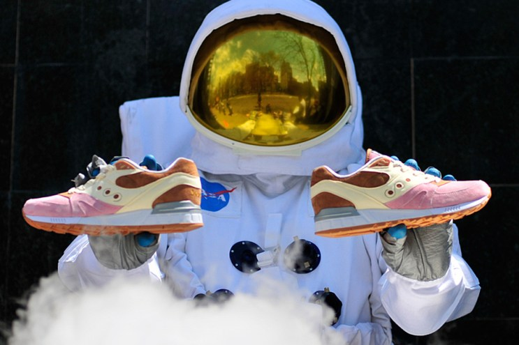 "Extra Butter x Saucony ""Space Snack"" Shadow Master Video"