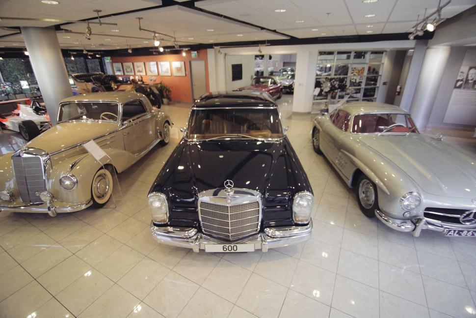 Gear Patrol Explores the Mercedes-Benz Classics Center