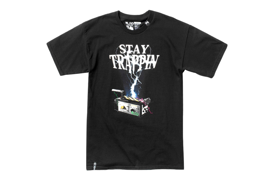 ghostbusters x lrg stay trappin tee