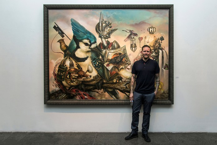 "Greg ""Craola"" Simkins ""Good Knight"" @ Merry Karnowsky Gallery Recap"