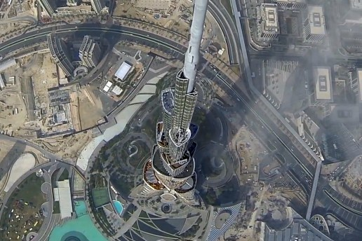 Hackers Fly Drones Over the Burj Khalifa